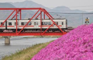 2011年4月30日 上田電鉄別所線 城下~上田 1000系1001F