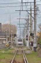 2011年4月30日 上田電鉄別所線 塩田町~中塩田 1000系1002F