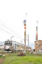 2011年4月30日 上田電鉄別所線 中塩田~塩田町 1000系1003F