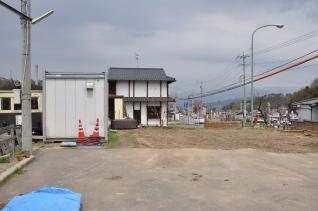 2011年4月30日 上田電鉄別所線 花りんご跡地