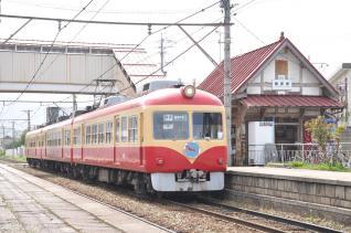 2011年5月4日 長野電鉄長野線 桐原 2000系D編成