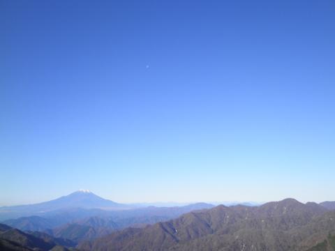 秋の富士山90