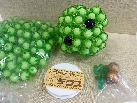緑のクマさん