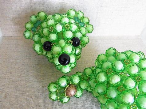 緑のクマさん2