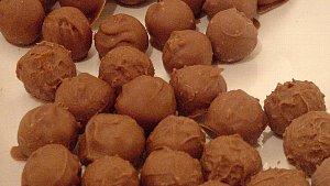 ショコラ試作 (2) 金柑トリュフ