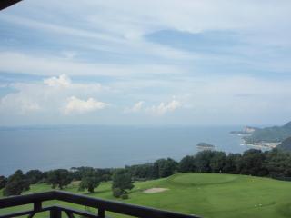小豆島ホテル部屋より眺め