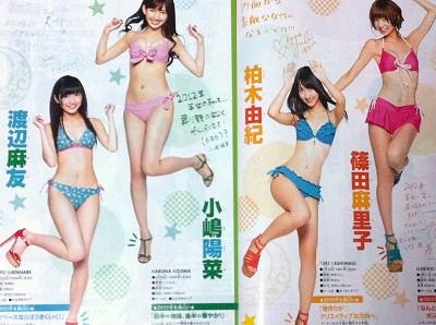 AKB48 2012年初水着披露!-2