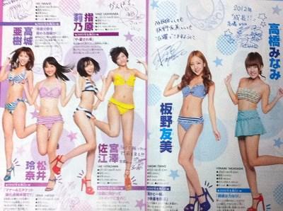 AKB48 2012年初水着披露!-3