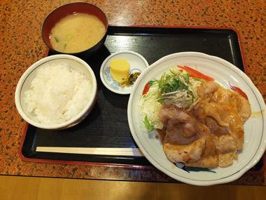7生姜焼き定食