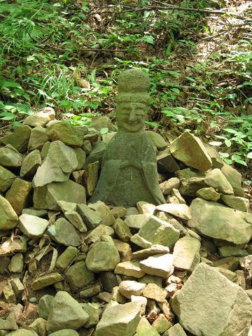鳥居峠旧道の石仏