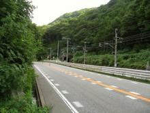下嶋(下吉田)の一里塚跡付近