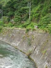 木曽川と旧国道