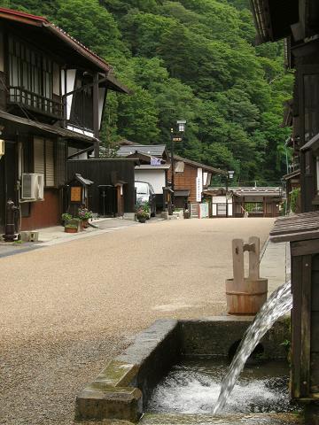 福島宿・上の段用水