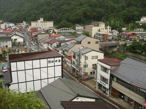 木曽福島の眺望