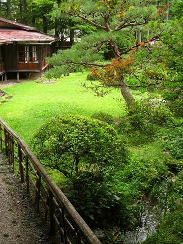 城陽亭庭園
