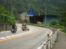 国道19号・元橋付近
