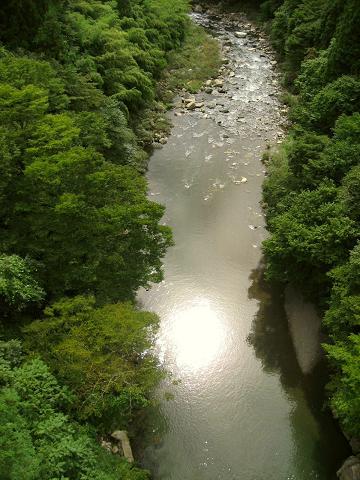 木曽川・元橋からの眺め