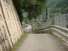 旧中山道・御嶽遥拝所付近