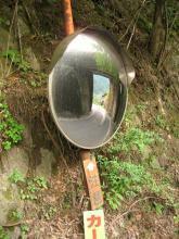 旧中山道・小野の滝付近