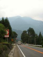 国道19号・荻原付近