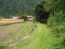大沢川越えの旧道