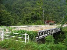 国道19号の大沢橋