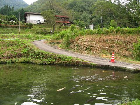 上郷付近の旧道