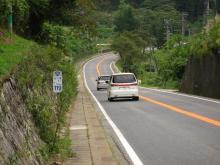 国道19号・上郷付近