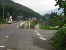 旧中山道・道の駅大桑付近