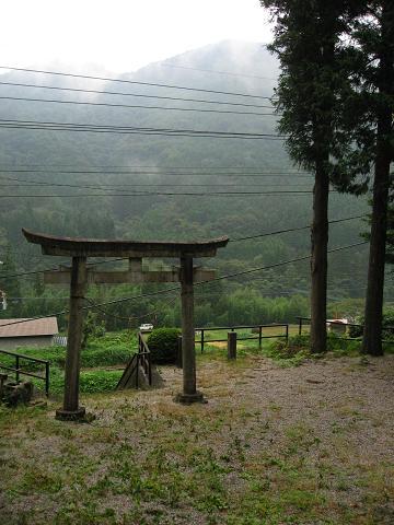 八人石の熊野神社
