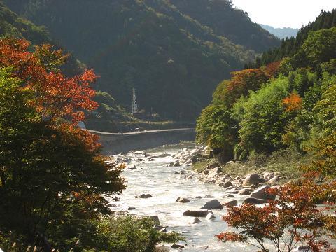 羅天の木曽川