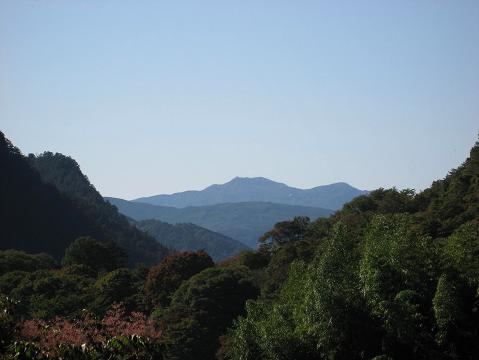 戦沢付近からの眺め