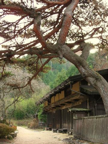 一石栃の立場茶屋跡