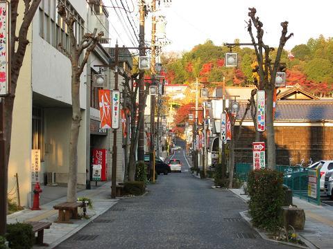 中津川宿新町付近