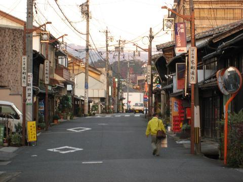 中津川宿本町