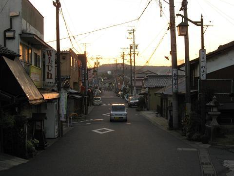 中津川宿下町