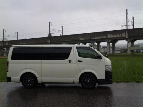 田とHIACE