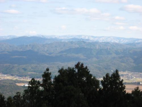大道山からの景色