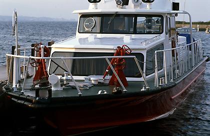 警察の警備艇