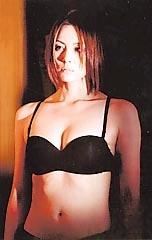 米倉涼子 黒下着姿