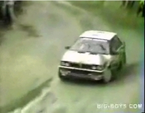Rally Car Racing Accident
