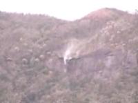 西表島の逆さ滝