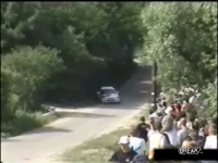 Luckiest Rally Car Fan Ever