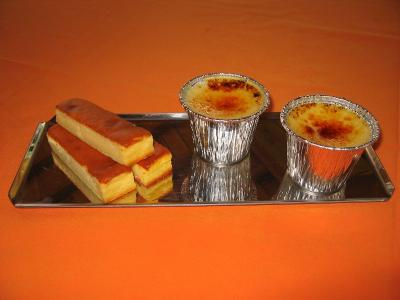 そめちゃんミルクのチーズケーキ&焼きプリン
