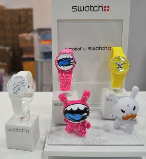 Kidrobot x Swatch Watches