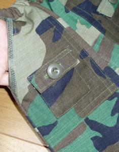 ブッシュスカートポケット