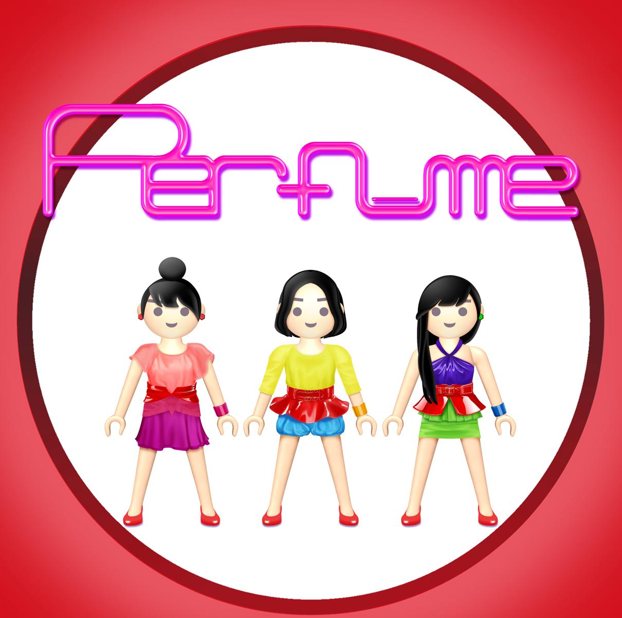 Perfume_イラスト プレモPerfume 『スパイス』
