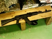 東京マルイ AK74MN は結構剛性が良い