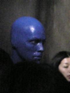 BlueMAN本人!!!!