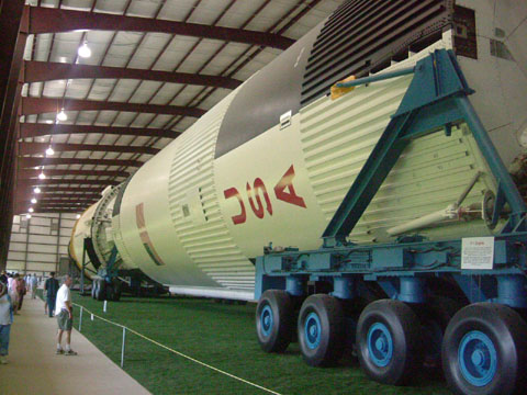 実物大ロケット